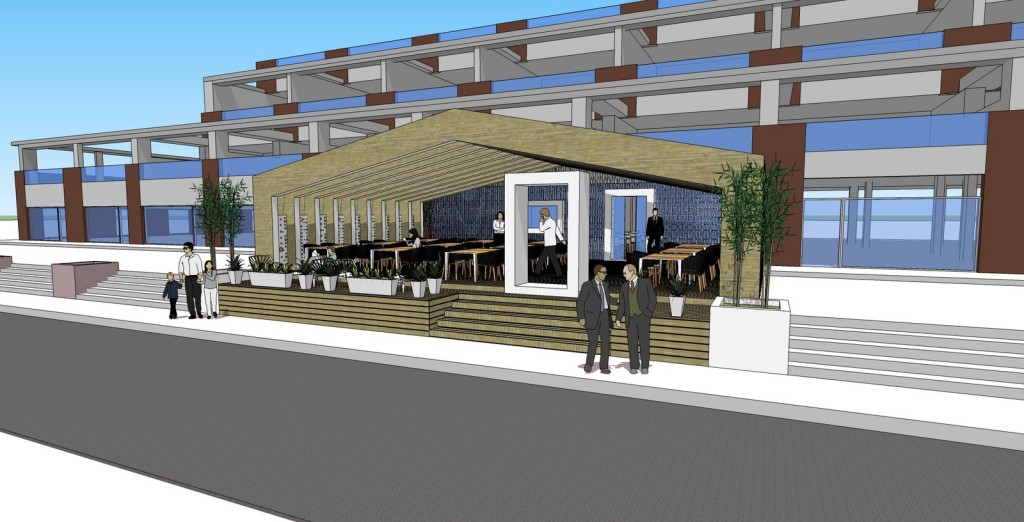 Proposal for restaurant and terrace Image
